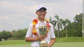 越南13歲的高爾夫球選手鄧光英。(圖源:互聯網)