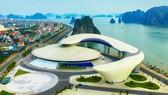 2019 年東盟旅遊論壇將於本月14至19日在廣寧省下龍市規劃與展覽宮舉行。圖為廣寧省規劃與展覽宮一瞥。(圖源:雄山)