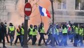 """法國""""黃背心""""示威遊行持續進行。"""