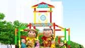 阮惠春花街是不可缺少的迎春活動。(圖源:互聯網)