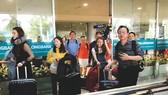 眾多越僑同胞回國過年。