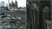 俄西伯利亞採煤州遍地黑雪