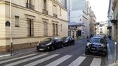 在華麗巴黎的靜寂西貢街(Rue de Saigon)。