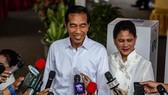 印尼現任總統佐科正式宣佈勝選