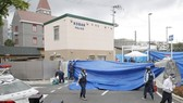 日本大阪發生襲警奪槍事件