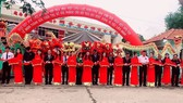 同奈省台灣商會會館整修後重新啟用剪綵儀式。