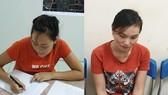 被起訴的2 名嫌犯梁氏溪(左圖)與蘆氏清。(圖源:T.H)