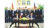 越柬簽訂 28 個領域協議備忘錄