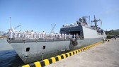 Tàu khu trục tên lửa ROKS Kang Gam Chan (DDH-979) ghé cảng Tiên Sa, thăm chính thức Đà Nẵng