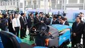 Lãnh đạo tỉnh Quảng Nam tham quan nhà máy sản xuất máy nông nghiệp THACO