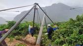 Điện lực miền Trung khẩn trương khắc phục lưới điện