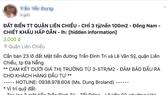 Facebook Trần Yến Dung đã bị Công an quận Liên chiểu phạt 10 triệu đồng vì thông tin bán đất không đúng sự thật