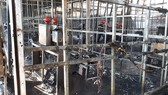 Cháy lớn tại Công ty sâm Ngọc Linh Việt Nam