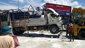 Xe tải chạy với tốc độ 97km/ giờ khi gây tai nạn. Ảnh: ĐOÀN KIÊN