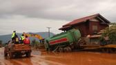 PV Báo SGGP ghi nhận tình hình cứu hộ người bị nạn trong vụ vỡ đập tại Lào