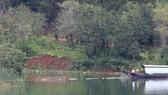 """Tháo dỡ bờ kè xây dựng """"chui"""" tại hồ Tuyền Lâm - Đà Lạt"""