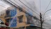 Hỏa hoạn thiêu rụi căn nhà ở trung tâm Đà Lạt