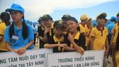 Ngày hội trẻ em khuyết tật trên đảo Hòn Tằm
