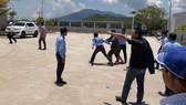 Tài xế tấn công nhân viên trạm BOT Ninh Lộc