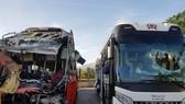 Khánh Hòa: Hai xe khách tông nhau, ít nhất 1 người chết, 25 người bị thương