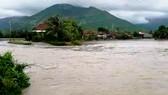 Nước trên các sông tại tỉnh Khánh Hòa vẫn đang dâng cao