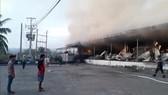Vụ cháy gây thiệt hại nặng nề.