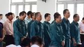 12 bị cáo tại phiên tòa
