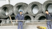Steel is one of commodities seeing trade deficit in the first four months this year (Photo: SGGP)