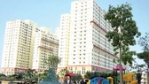 Apartment blocks for middle income people in District 7, HCMC (Photo: SGGP)