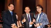 International delegates take part in the APEC SME Finance Forum in HCM City. (Photo: VNA)