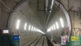 An under construction tunnel of Ben Thanh-Suoi Tien metro line in HCMC (Photo: SGGP)