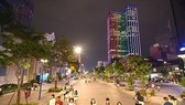 Nguyen Hue walking street in downtown HCMC (Photo: SGGP)