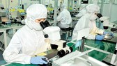 Workers producing electronics components for exports (Photo: SGGP)