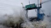 Pabuk tropical storm makes landfall in Thailand on January 4. (Photo: VNA)
