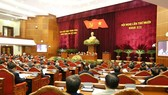 The 10th plenum of the 12th Central Committee of the Communist Party of Vietnam wrapped up in Hanoi on May 18 after nearly three days of working. (Photo: VNA)