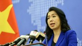 The Foreign Ministry's Spokeswoman Le Thi Thu Hang (Photo: VNA)