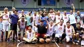 Đội bóng rổ nam TPHCM đã vô địch quốc gia năm nay. Nguồn: LĐBRVN