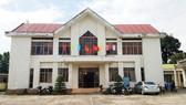 Trụ sở công an xã nơi ông Tưởng và ông Phương công tác.