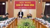 Chủ tịch nước Trần Đại Quang chỉ đạo hội nghị.