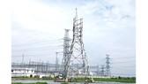 Trụ đã dựng trên địa bàn huyện Củ Chi, nhưng chưa thể kéo dây  do chưa thông tuyến