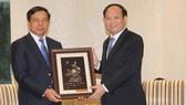 Phó Bí thư Thường trực Thành ủy TPHCM tiếp đoàn Viện KSND Tối cao Lào