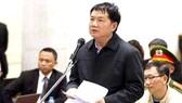 Ông Đinh La Thăng tự bào chữa cho bản thân tại phiên tòa xét xử vụ án xảy ra tại PVN và PVC
