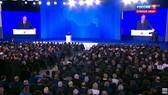 Buổi đọc Thông điệp liên bang 2018 cũa Tổng thống Nga V.Putin thu hút đông đảo thính giả