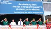 Lực lượng vũ trang TPHCM ra quân huấn luyện