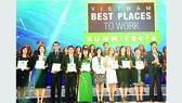 Vingroup chiếm ưu thế tuyệt đối trong Tốp 100 nơi làm việc tốt nhất Việt Nam