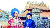 Áo Đoàn Loan Nhật Bình của công chúa Mỹ Lương, được Nguyên Phong Đoạn Lĩnh phỏng dựng                                                             Ảnh: NGUYÊN PHONG ĐOẠN LĨNH