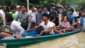 Vỡ đập ở Myanmar, hơn 50.000 người di tản