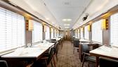 Nhà hàng sang trọng trên xe lửa