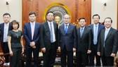 Bí thư Thành ủy TPHCM Nguyễn Thiện Nhân tiếp đoàn công tác Tập đoàn Urbaser