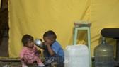 Trẻ em Venezuela tại trại tỵ nạn Bogota, Colombia